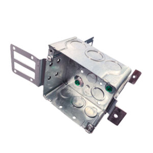Square Junction Box with Bracket