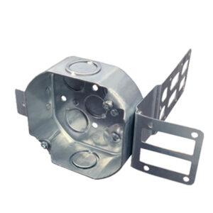 Octagon Box with Bracket