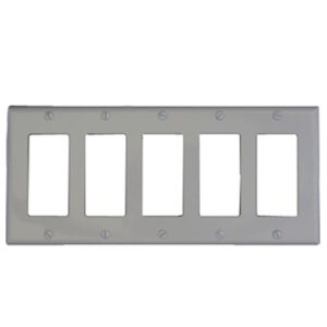 5 Gang Switch Plate