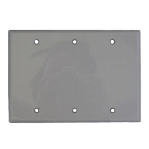 3 Gang Wall Plate