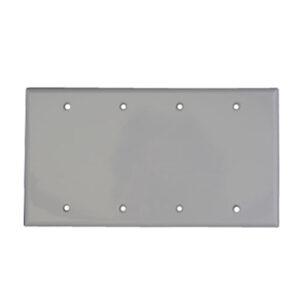 4 Gang Wall Plate